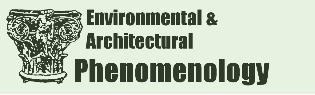 Environmental & Architectural Phenomenology